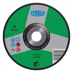 TYROLIT BASIC Raised Hub Dish Wheels for Concrete & Masonry Type 28