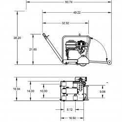 Diamond Products CC1507E3-20 Modular Saw