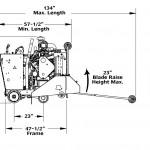 Diamond Products CC5049DC Front Pivot Walk Behind Saw 49HP CAT® Engine