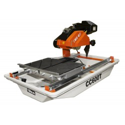 "Diamond Products CC600T 3/4 HP ELECTRIC TILE SAW WITH 7"" BLADE GUARD"