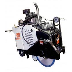 Diamond Products CC7574DD-3 3-Speed In-line Diesel Walk Behind Saw - 74 HP