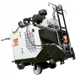 Diamond Products CC7574DK Single Speed  In-line Diesel Walk Behind Saw - 74.5HP