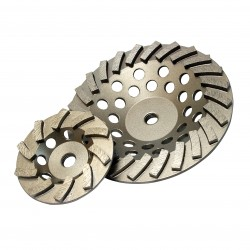 Diamond Products Delux-Cut Spiral Turbo Cup Grinders