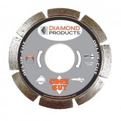 Diamond Products Delux-cut Segmented Small Diameter Diamond Blade