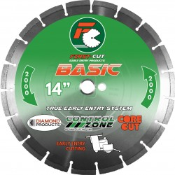 Diamond Products First-Cut BASIC Early Entry Blades No Skid Plate