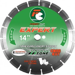 Diamond Products First-Cut EXPERT Early Entry Blades No Skid Plate