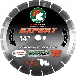 Diamond Products First-Cut EXPERT Early Entry Blades with Skid Plate
