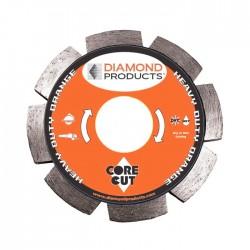 Diamond Products Heavy Duty Orange Segmented Tuck Point Diamond Blades