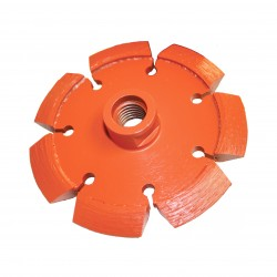Diamond Products Heavy Duty Orange V-Crack Blades