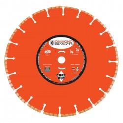 Diamond Products Heavy Duty Orange H.P. Turbo Blades