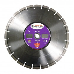 Diamond Products Imperial Purple Segmented Dry Walk Behind Blades