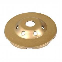 Diamond Products Standard Gold Low Profile Cup Grinders