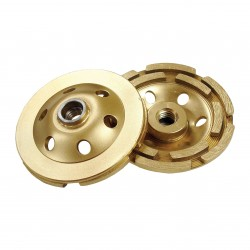 Diamond Products Standard Gold Segmented Cup Grinders