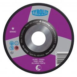 TYROLIT BASIC High Performance Zirconia Wheels for Steel & Cast Materials Type 27