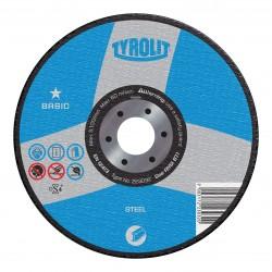 TYROLIT BASIC Wheels for Steel Type 27