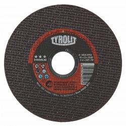 "TYROLIT 34163152 4-1/2"" x .030 x 7/8"" PREMIUM ULTRA-THIN Disc for INOX, Steel & Stainless Steel Type 1"