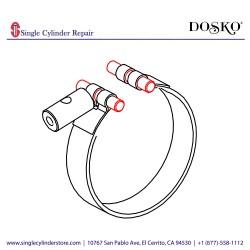 DOSKO 783568 FLOATING PIN-GRINDER (10079)