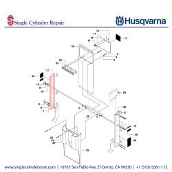 Husqvarna SIDE RIGHT 542202348