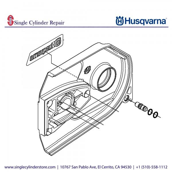 Husqvarna Clutch Cover 506332505
