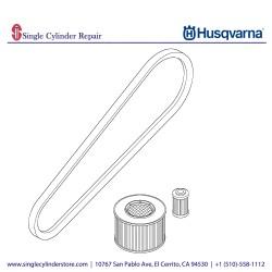 Husqvarna 12 mth / 500 hr service kit 594216701