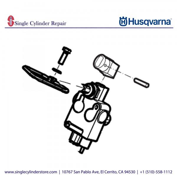 Husqvarna Hydraulic Valve, complete 594347601