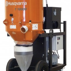 Husqvarna T 18000 DUST EXTRACTOR 480V 3PH, Dust and Slurry Management 967663601