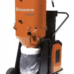 Husqvarna T 8600 DUST EXTRACTOR 480V 3PH, Dust and Slurry Management 967664201