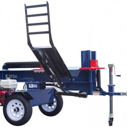 Iron & Oak 30 Ton Horizontal Commercial Log Splitter with Hydraulic Lift Arm BHH4013GX30