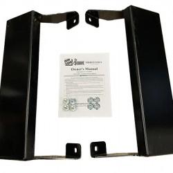 Iron & Oak Log Cradle BR021186
