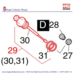 Multiquip 01241500 Dipstick