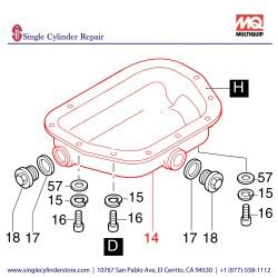 Multiquip 01241700 Sump Oil