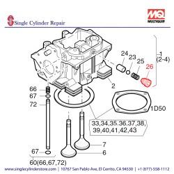 Multiquip 01245200 Screw Adjusting