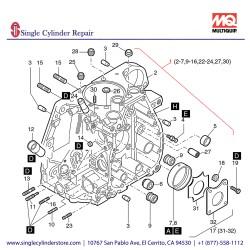 Multiquip 01249061 Crankcase