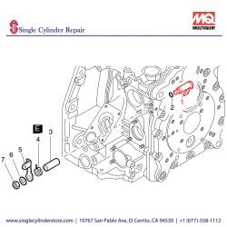 Multiquip 01254603 Lever Cpl