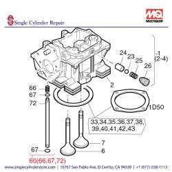Multiquip 01269700 Pipe Oil Pressure