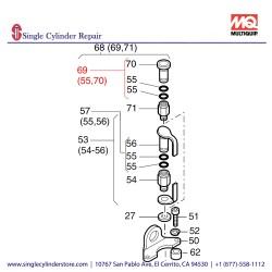 Multiquip 01275611 Closing Plug Assy