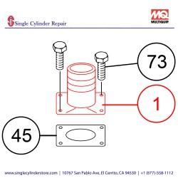 Multiquip 01360844 Discharge head