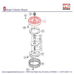 Multiquip 0201503A001 Casing