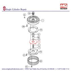 Multiquip 0201503A003 Impeller