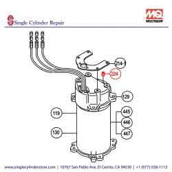 Multiquip 0201503A224 Plug