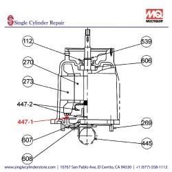 Multiquip 0201503A4471 Switch Centrifugal