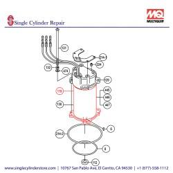 Multiquip 0201503UL119 Motor
