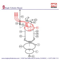 Multiquip 0201503A129 Frame Cover