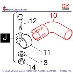 Multiquip 03877300 Elbow