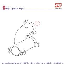 """Multiquip BALL HOLLOW 4"""" C30HD,ST30 EM14818"""