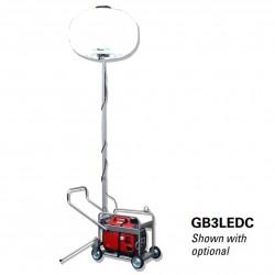 Multiquip GB3LEDC Light Balloon 4-whl Cart LED 300W