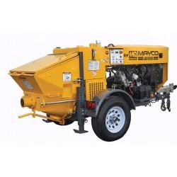 Multiquip LS300G Hydraulic Concrete Pump Mayco Zenith 428 Gas Eng