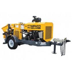 Multiquip LS450 Hydraulic Concrete Pump Mayco Remixer w/Hatz T4F