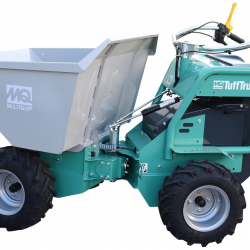 Multiquip TB11PE Tufftruk buggy walk behind poly tub 24v