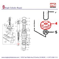Multiquip 355334300 Piston Rod Kit